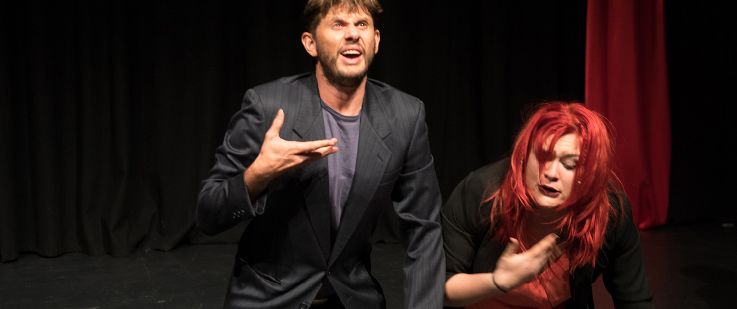 A Man and a Woman on stage